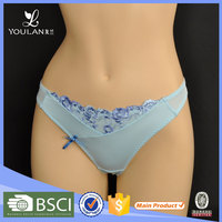 High Quality Sex Appeal Women Plain Lace oem transparent g-string