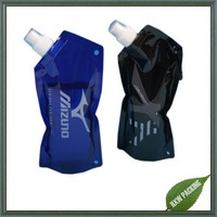 2016 new product stand up pouch bags with side spout and hook