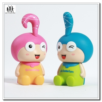 15cm cartoon money box,factory making plastic vinyl money bank for gift,cartoon money box