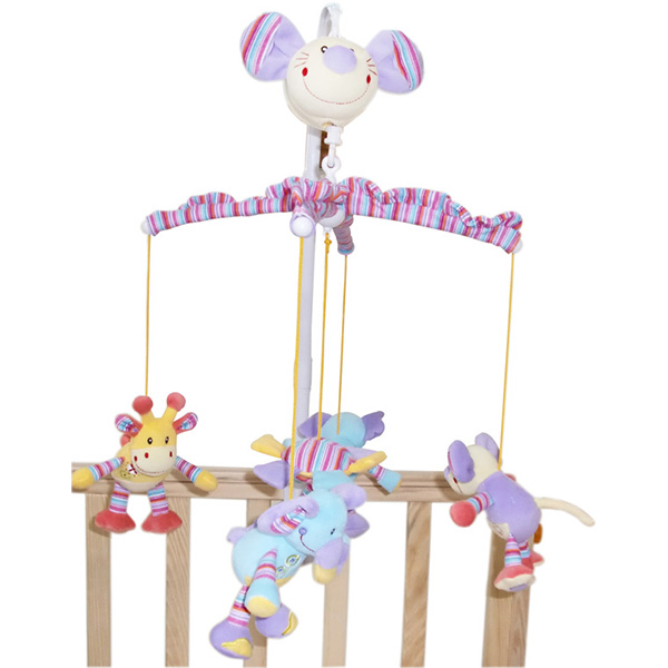 High quality electric baby crib musical mobile hanging toys