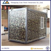 Luxury Sandwich Panel Wall Home In Containers