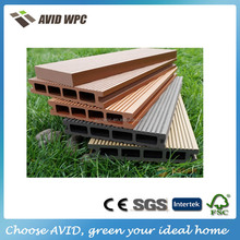 low maintanance black wood plastic composite board/composite wood price