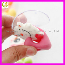 Structural disabilities silicone toothbrush holder with cover toothbrush holder with suction cup toothbrush holder