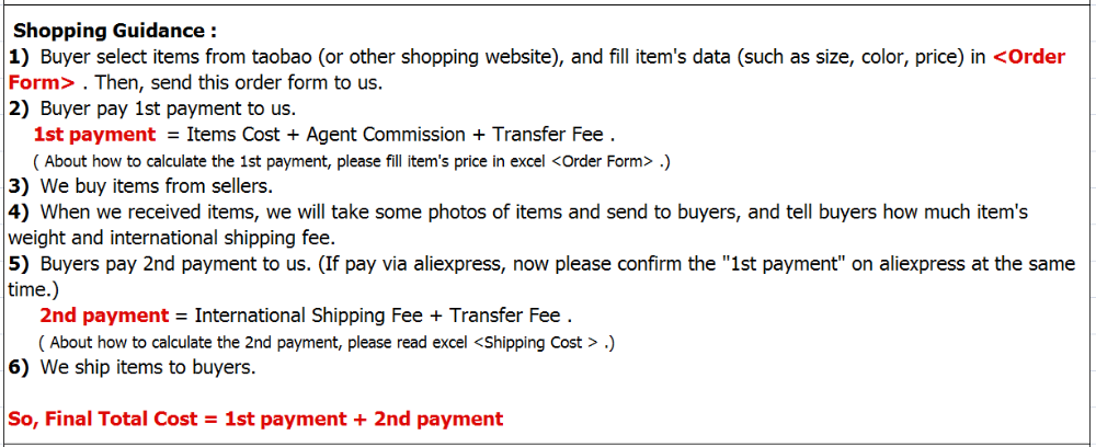 China buying service- Taobao,Tmall,1688 buyer agent