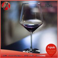 Best Prices Latest Custom Design heart shape wine glass with competitive offer