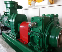 Blackmer rotary vane vacuum pump for heavy fuel oil