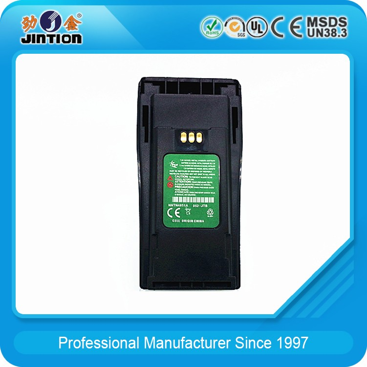 7.2V NI-MH 1650mAh NNTN4851A Two way radio battery for GP3688