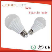 Thermal conductance plastic high power led bulb