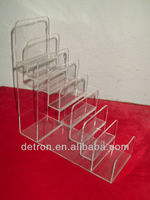 Clear acrylic handbag display stand BW-044