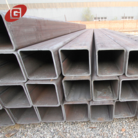 100*100 black lsaw construction structure material square steel tube specifications