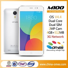 Your Brand Your LOGO OK OEM m100 5 inch Dual Core Quad Core 3G Dual Sim android brand new cell phone