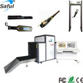 Saful 12 alarm zones Door Frame Metal Detector with 3D Infrared design