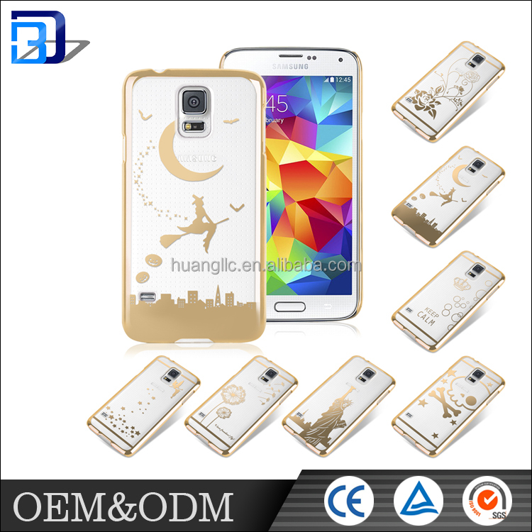 Hot sale ! custom design cell phone case waterproof plastic Case Cover For samsung galaxy S5