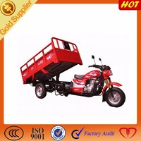 Three Wheel Motorcycle made in China/air cooling engine Hydraulic Lifter Tricycle DJ150ZH