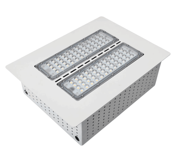 100w Led Recessed Celling Ip65 High Explosion Proof Led Canopy Lights