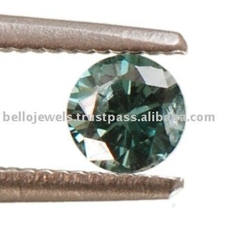 Fancy Color Diamond - Loose Green diamond Solitaire