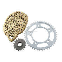 Gold O-Ring Chain and Sprocket Kit For Honda CBF600S 8,9 2008-2009