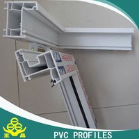 High quality plastic extrusion pvc profiles for window and door frame