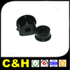 Black Anodizing Machined Service CNC Milled Machining Metal Components Bushing cnc machined parts