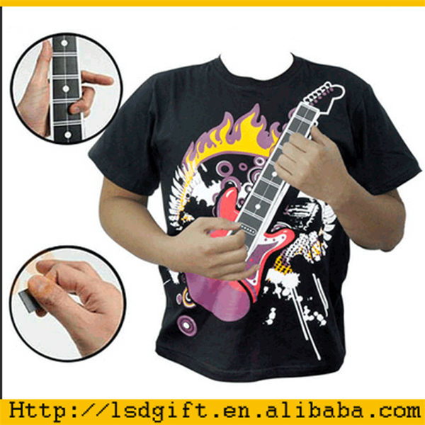 electronic rock guitar shirt rock t shirts electric t shirt