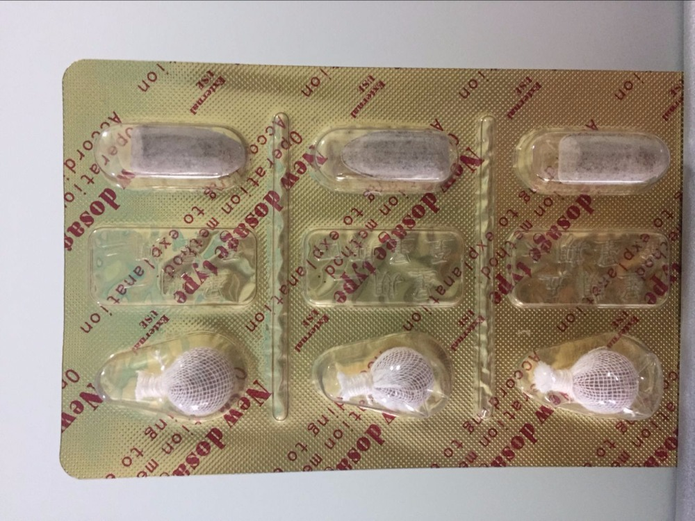Effervescent tablets for Vagina Cleaning gynecological disease prevention