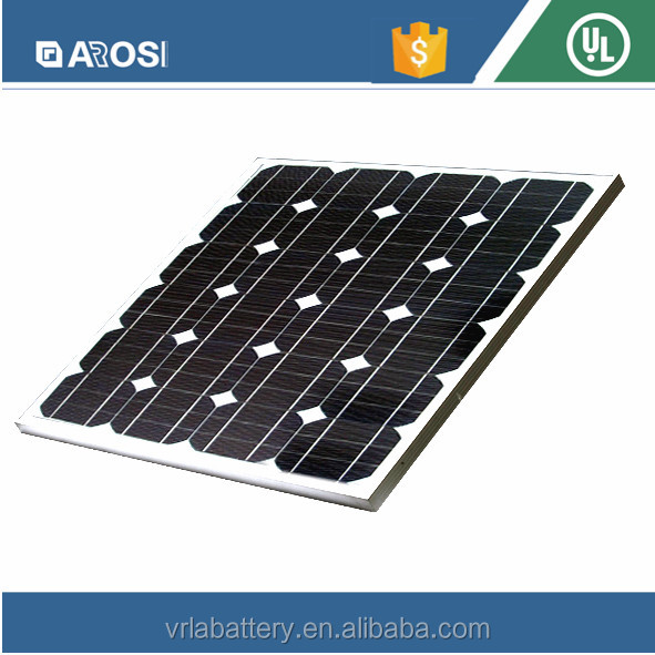 High Efficiency poly 65W best price per watt solar panels in india