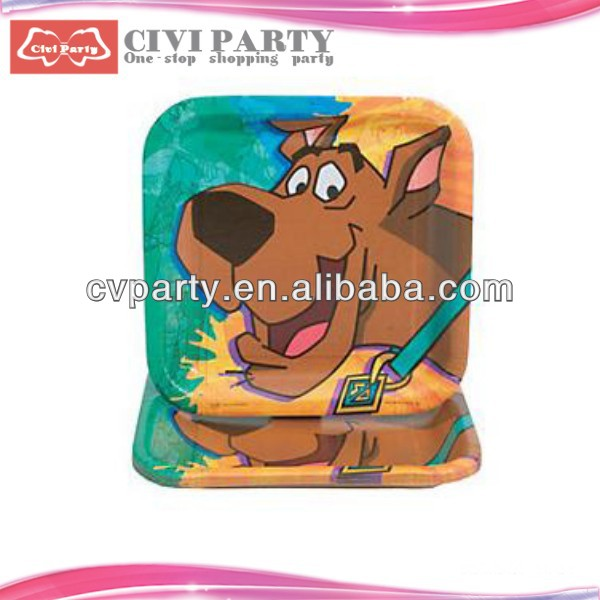 custom party plates,round party supplies plates cheap custom logo tissue paper