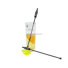 bottle top plastic stirrers cocktail swizzle stick