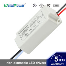 100-277Vac Classic Waterproof Led Driver Non-Dimmable Led Power Supply