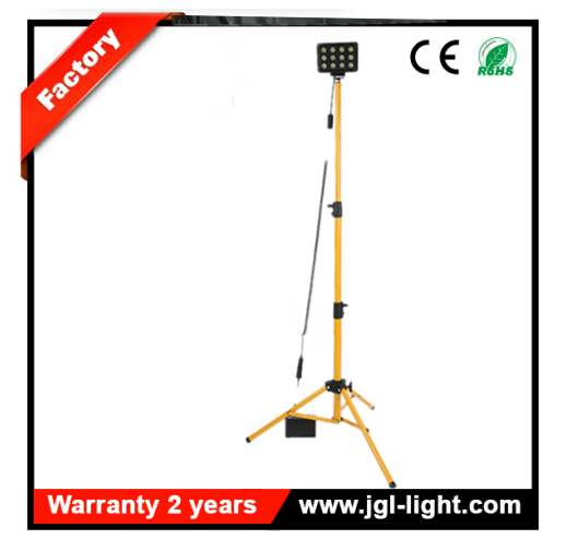 Portable battery powered led light tower RLS836L rechargeable Security and Inspection Lighting