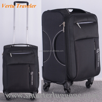 China Wholesale Fabric Travel Holdall Luggage Bag