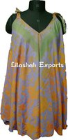2509 Vintage Silk Saree Blusa Tops Garments Supplier Manufacturer India Jaipur vetement femme sun dress beachwear dress summer