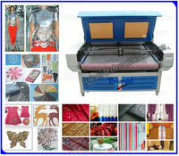 multi-head Flat Bed Co2 Laser Cutting Equipment for Home Textile Fabrics