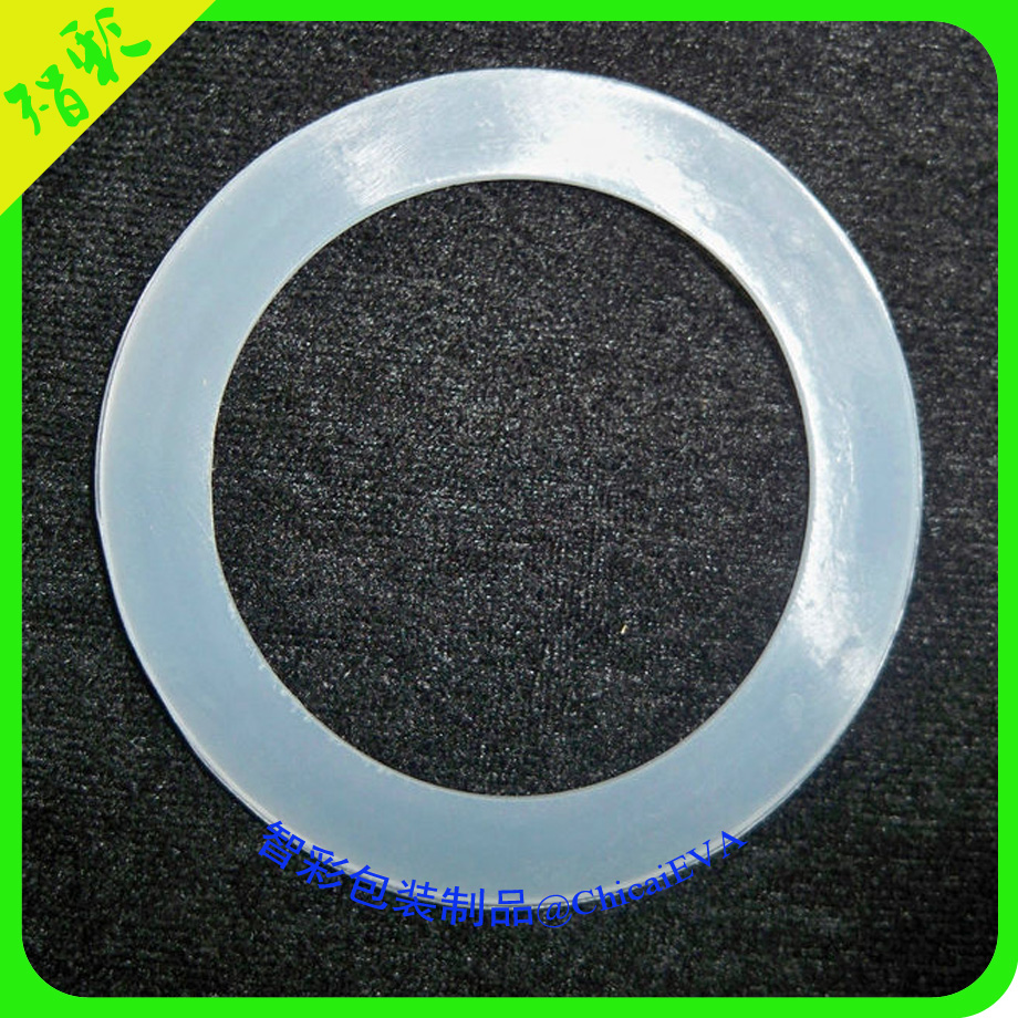 High quality flexible clear pre cut silicone gasket for LED lights