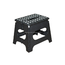 Hot Sale 11 Inch Height Black Plastic Folding Step Stool