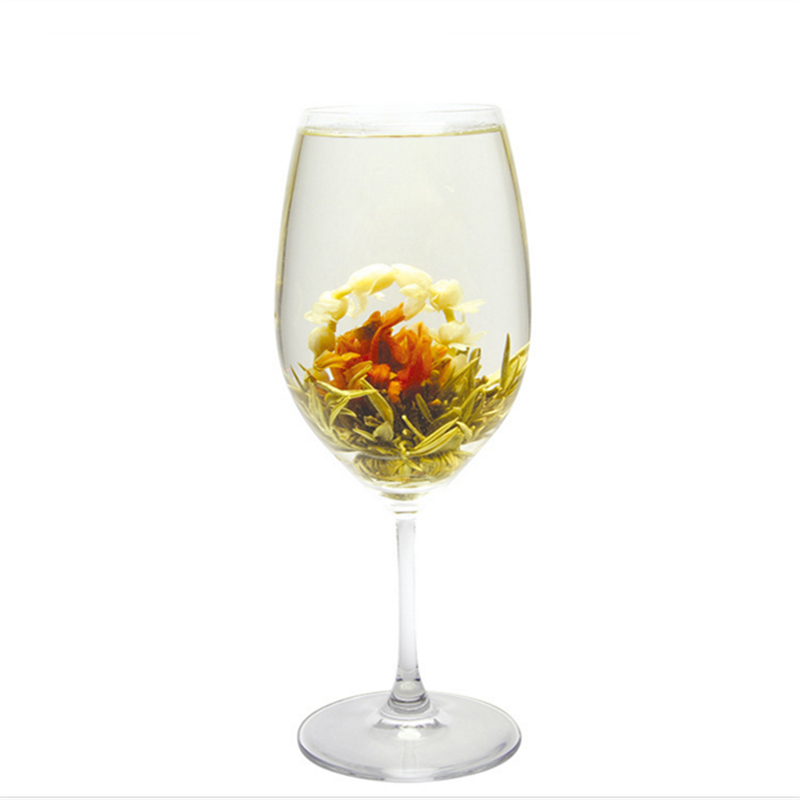 Blooming flavor tea hand made dried flower blooming tea (hua hao yue yuan)