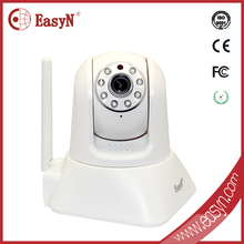 Indoor Wireless Internet video IP Camera Webcam two Audio Night Vision