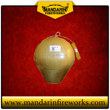 High quality artillery shell 8 inch ball shell fireworks wholesale display shell fireworks