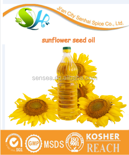 Food Grade CAS 8001-21-6 China supplier sunflower oil for sale