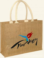 High quality jute shopping bags for clothing