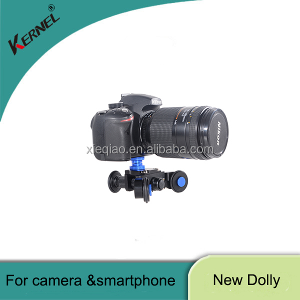 Kernel Camera Rail Car Table Dolly Video Slider Track Camera Stand For any DSLR