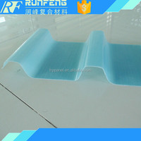 clear fiberglass panels / frp roofing sheet