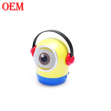 OEM Factory Customized 3D Bluetooth Speaker Minion Loud Speaker