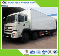 Low price top sell 2 ton refrigerated box van truck