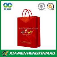 China Supplier Paper Bags , top quality shopping bag, hard art paper bag