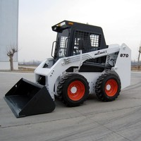 2016 new skid steer loader WECAN model WT870 with bucket