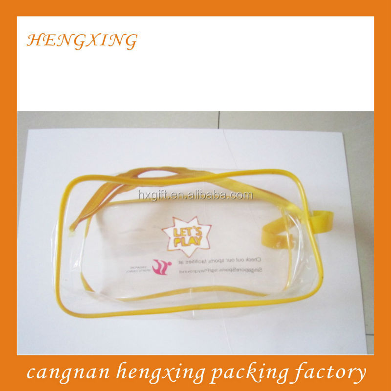 Cosmetic PVC Zipper Wire Bags