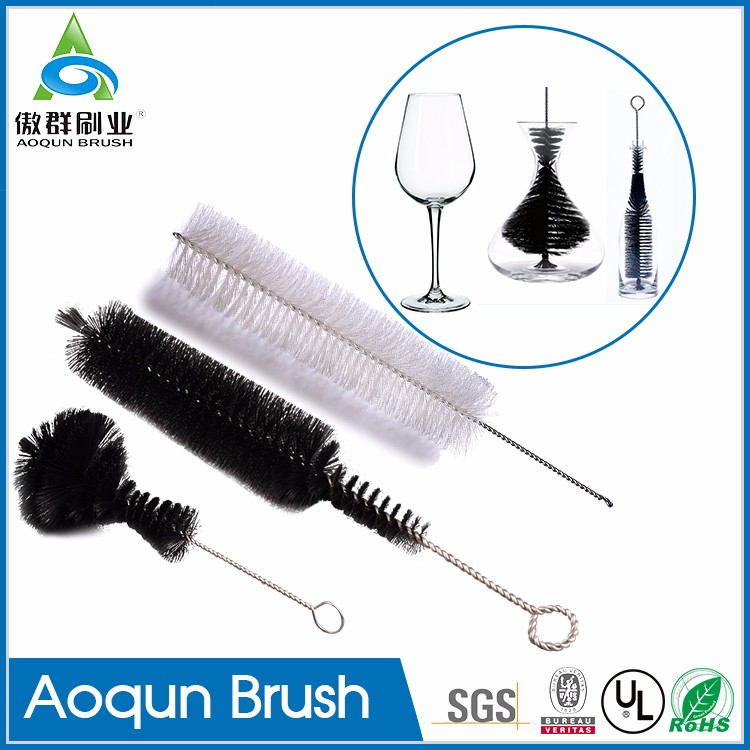 Bar Maid Wine Decanter Brush Cleaner