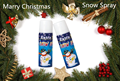 500ml flying snow spray for Christmas crazy