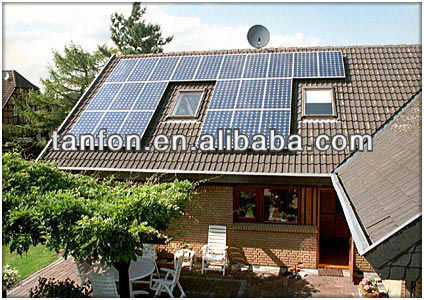 solar panels 130 watt solar power MPPT system high efficiency 25kw solar power system